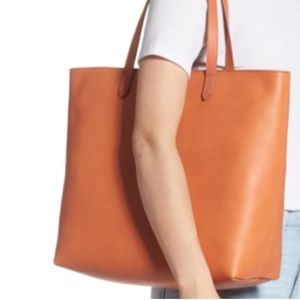 Brand new gorgeous Madewell leather tote bag